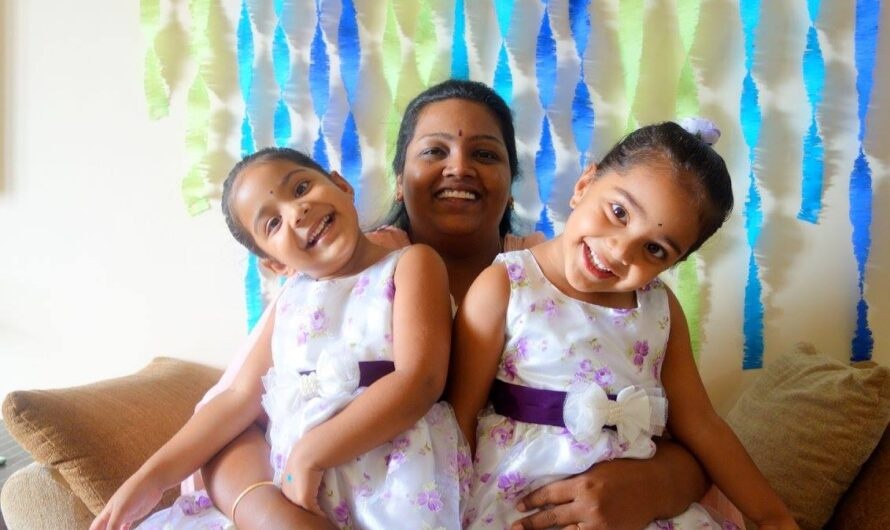 My double dose of happiness in life – Kiran Doshi on her twins