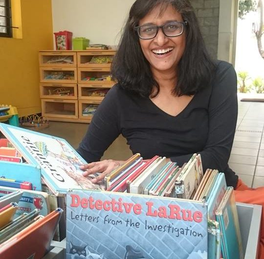 Vimala Malhotra on Hippocampus and on being a cool mum