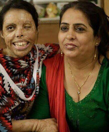 Acid attack fighter Soniya on her mum Sharada Choudhary