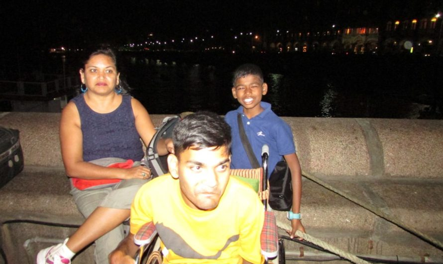 Aarti Bajla on being a mum to a son who has cerebral palsy