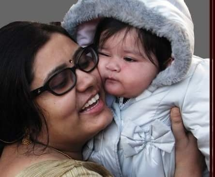 Anupama Mazumder – an inspiring mum speaks of personal loss and having a blessed support system.