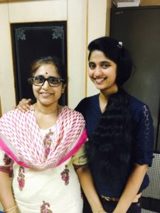 archana with mom