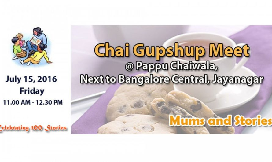 Chai Gupshup Meet at Pappuchaiwalla