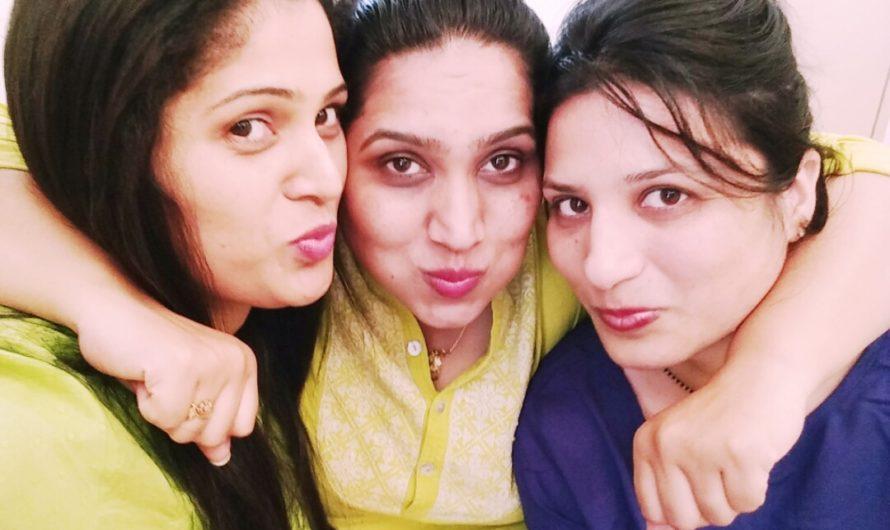 Namrata, Priya and Sunitha- Friendship day series