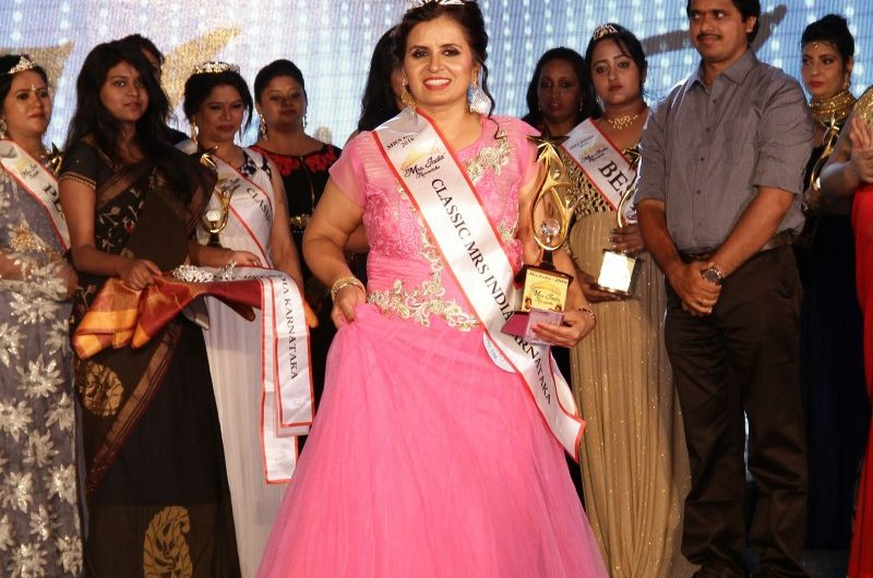 Usha Rani on being a mum and winning the title of Mrs. Karnataka 2016
