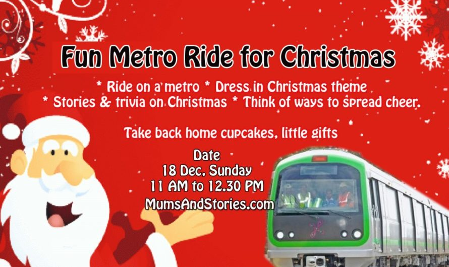 Fun Metro Ride for Christmas