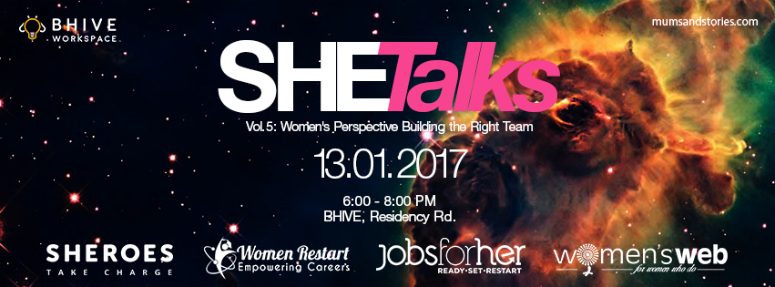 She Talks-Vol 5 – Bhive – Mums and Stories outreach partner