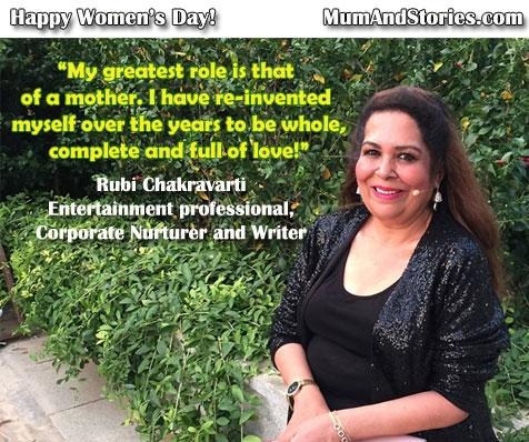 Rubi Chakravarthi – Women's day special series