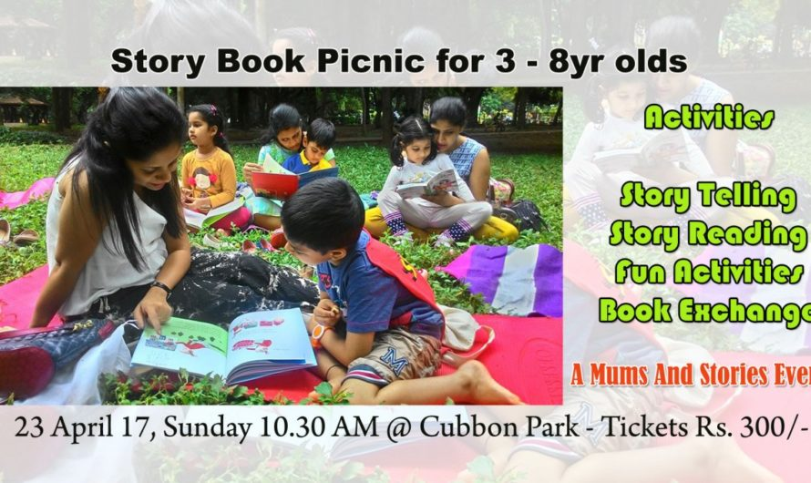 Storybook picnic for 3-8 year olds