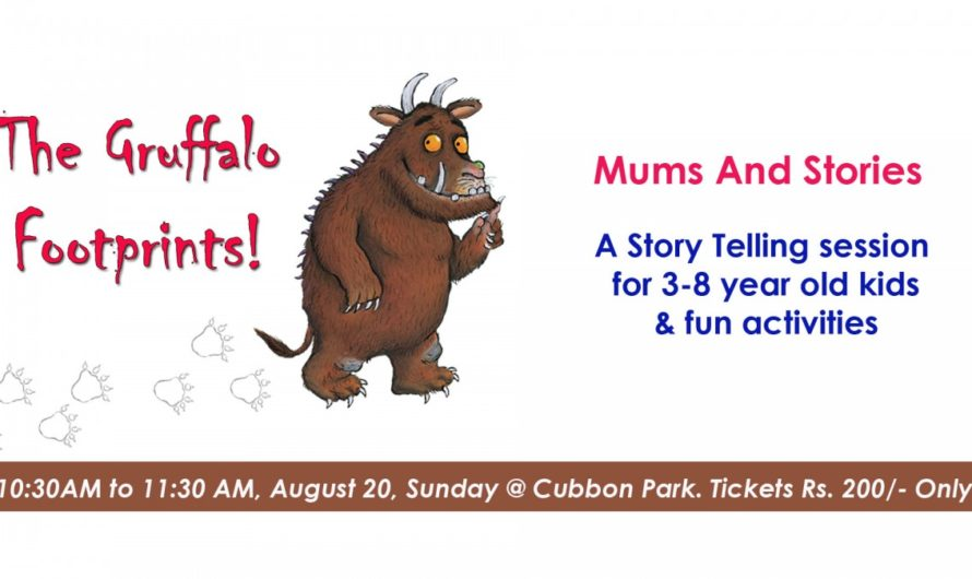 The Gruffalo Footprints by Mums and Stories