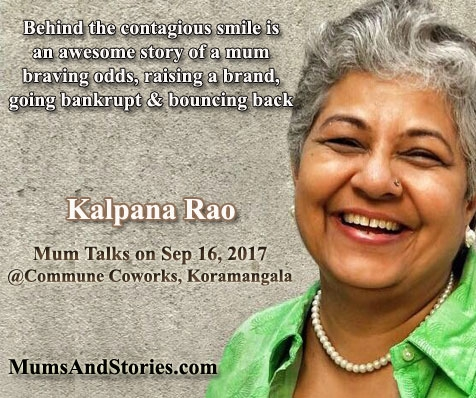 Kalpana Rao on Mum Talks