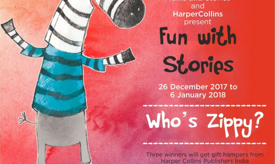 Contest Alert for Zippy by Mums and Stories and HarperCollins
