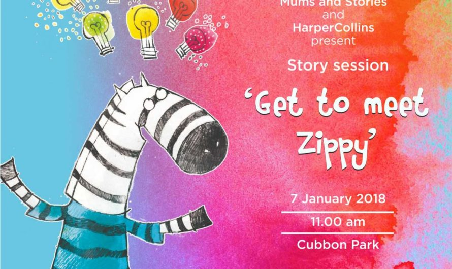 Get to Meet Zippy by Mums and Stories and HarperCollins