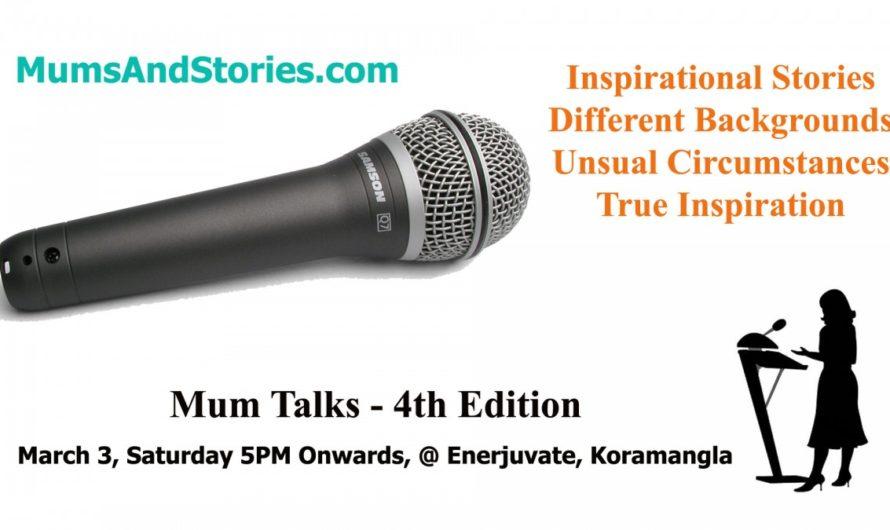 Mum Talks -Women's Day special-Inspiring stories