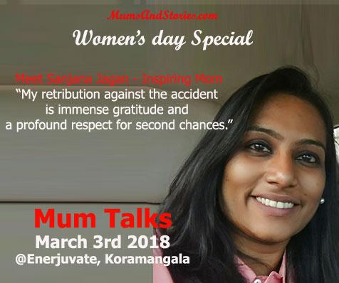 Sanjana Jagan on Mum Talks