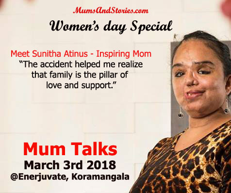 Sunitha Atinus on Mum Talks