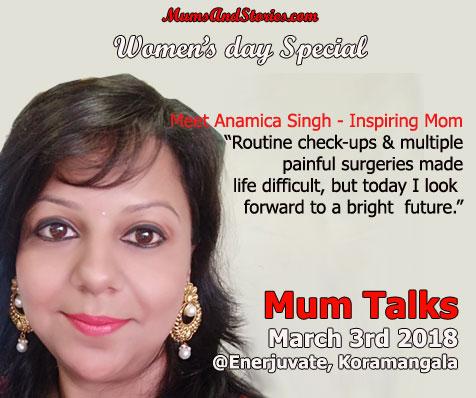 Anamica Singh on Mum Talks