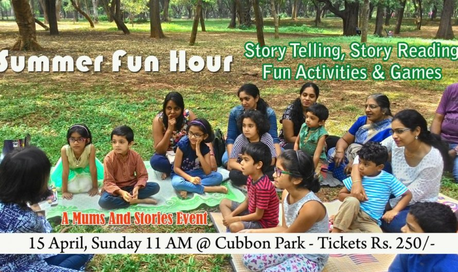 Summer Fun hour by Mums and Stories