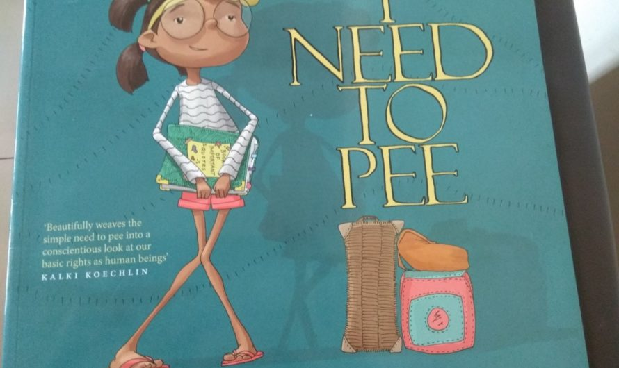 I Need to Pee Book review on Mums and Stories