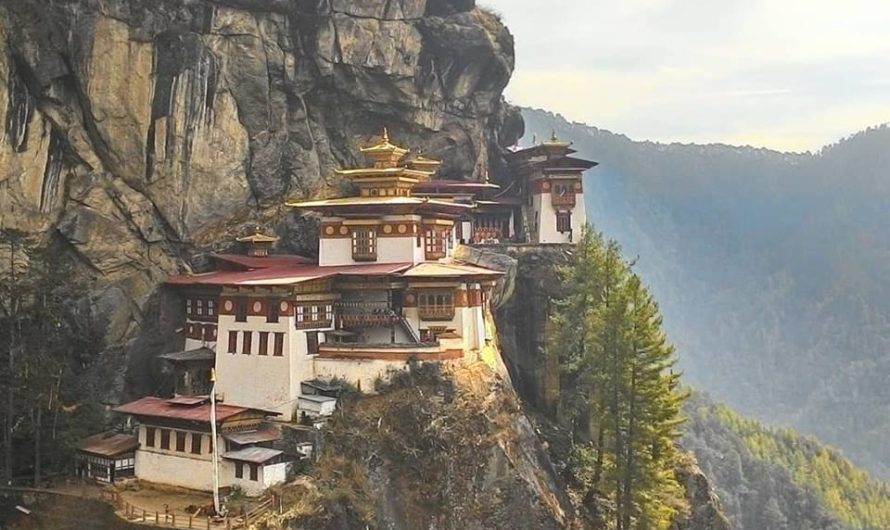 Making your way to iconic destinations with kids -Tigers Nest with kids