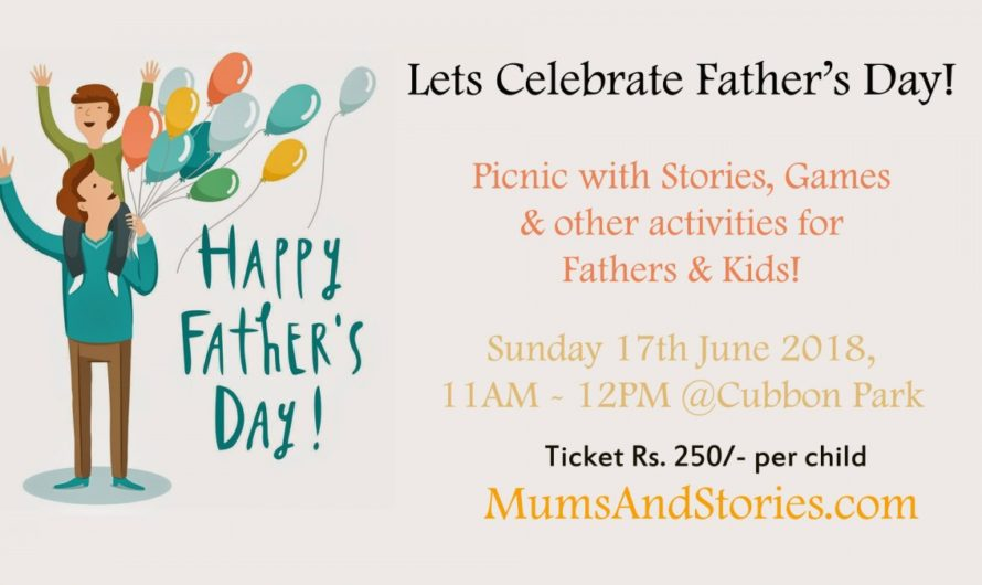 Father's Day Picnic with Mums and Stories