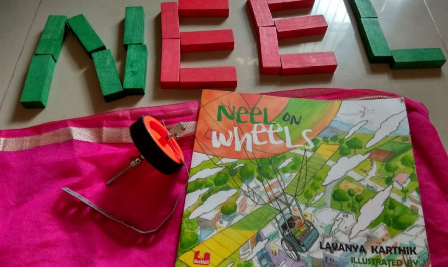 Neel on Wheels book review on Mums and Stories