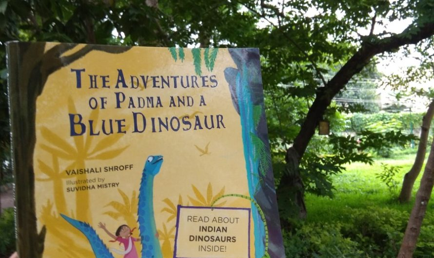 Book review on The Adventures of Padma and a Blue Dinosaur