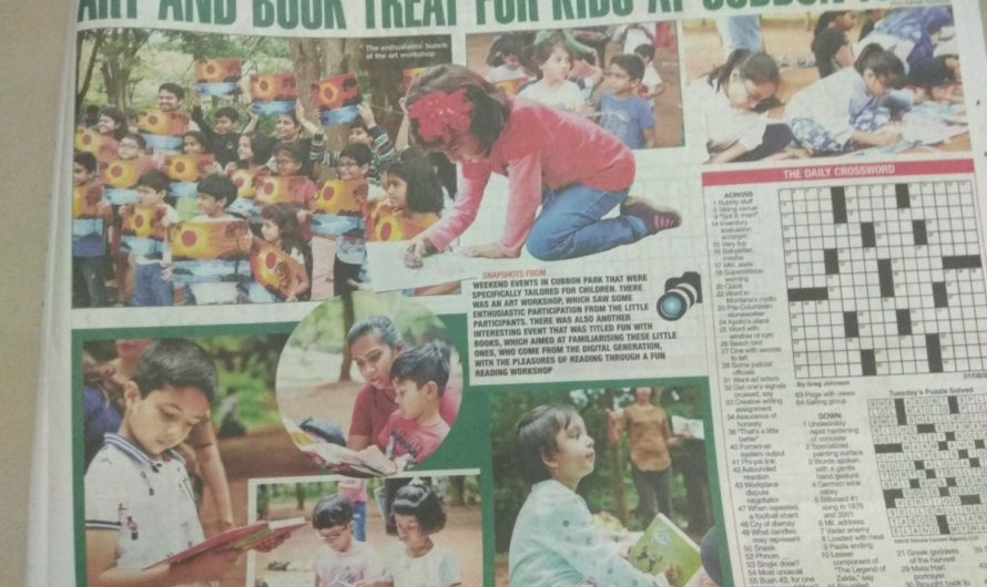 Media coverage and Event Photographs of Fun with Books event