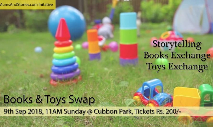 Storytelling- Books and Toys Swap By Mums and Stories