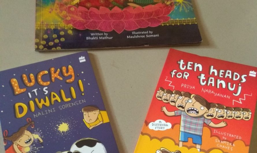 Festival Special books- Dasara and Diwali books for kids