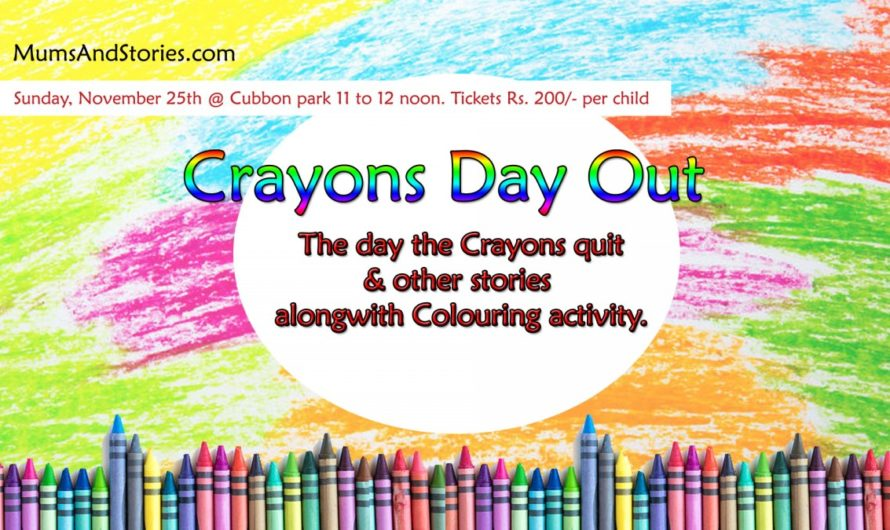 Crayons Day Out by Mums and Stories