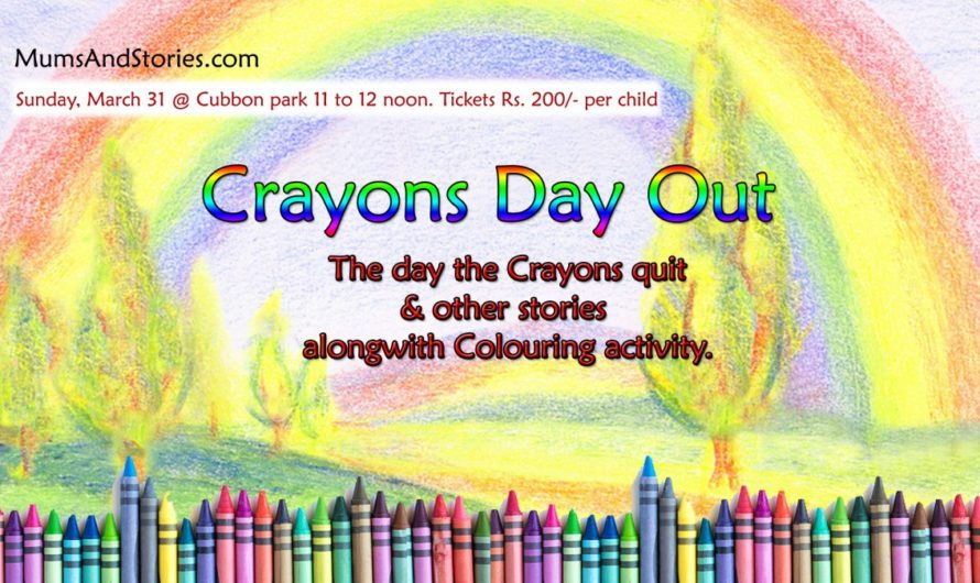 Crayons Day Out in March by Mums and Stories