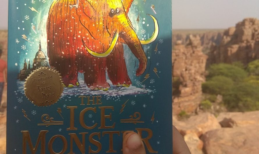 The Ice Monster Book Review on Mums and Stories