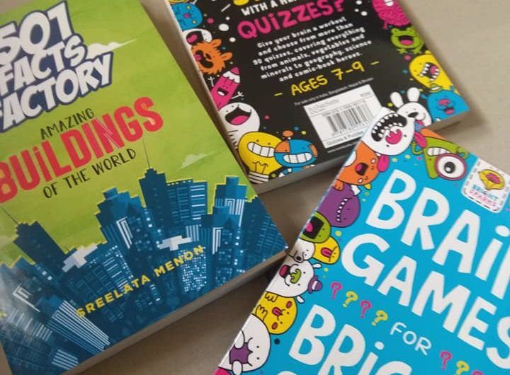 Quiz books for kids from Hachette India