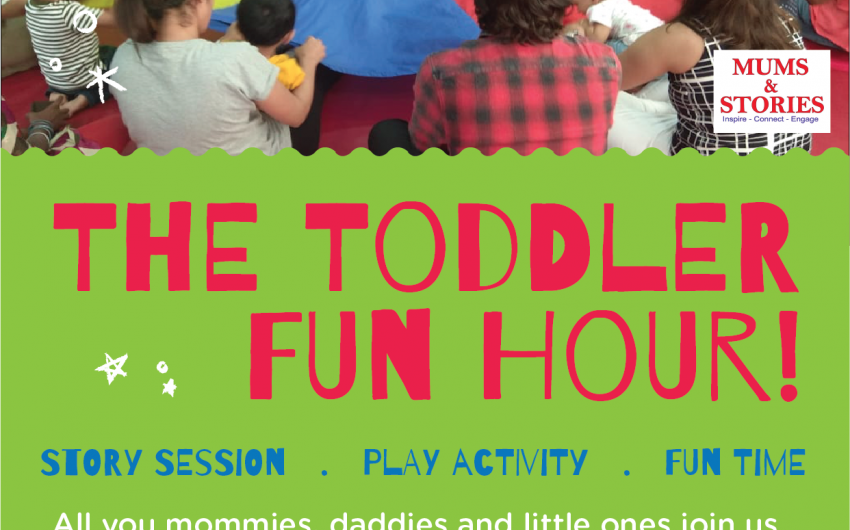 Mums and Stories and The Little Gym presents The Toddler Fun Hour at Little Gym Jayanagar