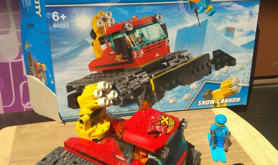 Lego City 60222 Snow Groomer review on Mums and Stories