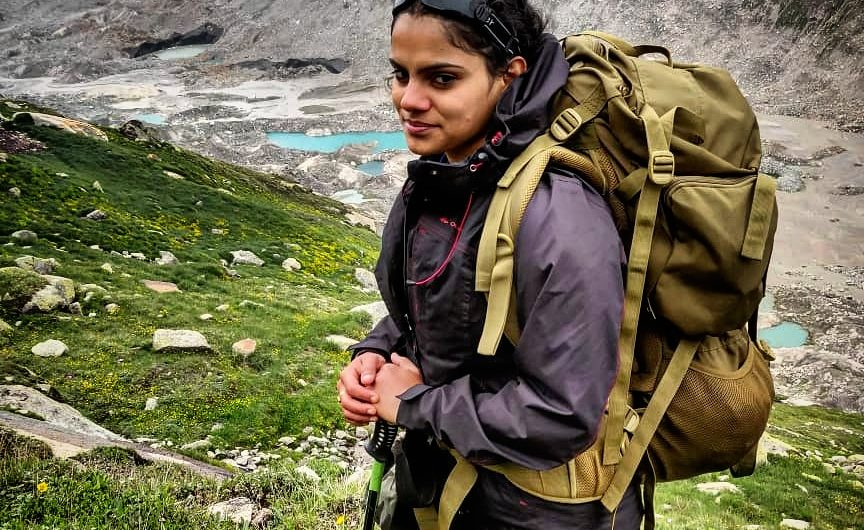 Sreesha Ravindran says the stillness and silence of mountains make her go for bigger treks