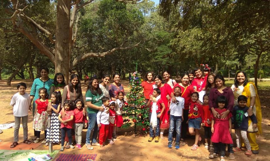 Photographs of Christmas Picnic and Media coverage