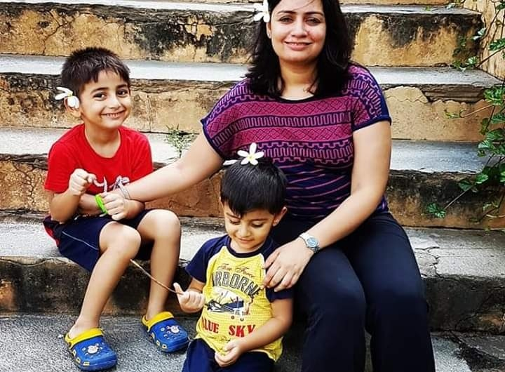 Niyati the fauji mom doodles to chalk out the quirky side of parenting