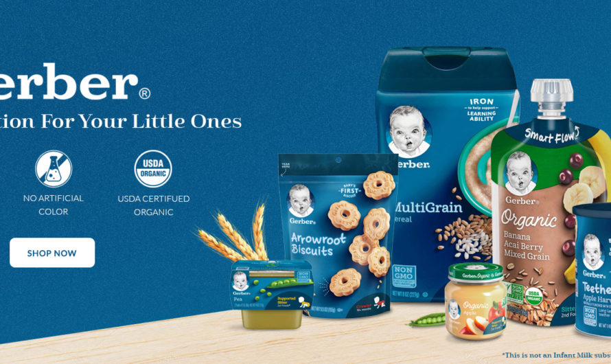 What makes Gerber a great option for baby's meal times?