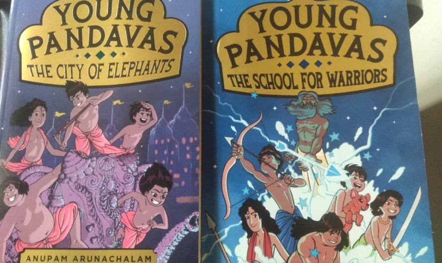 Young Pandavas from Hachette India are a great read for kids