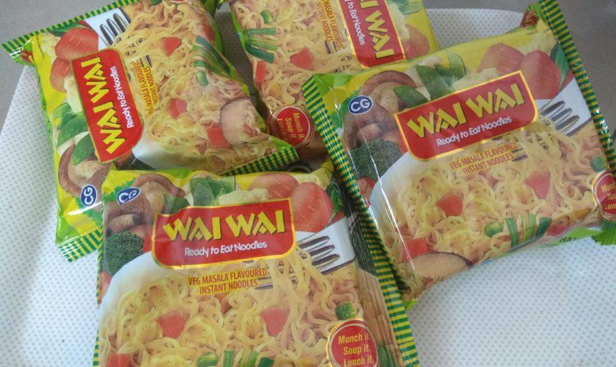 Wai Wai Noodles a good option for snacks for kids