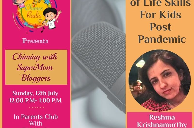 Reshma Krishnamurthy from Mums and Stories featured on Chimes Radio