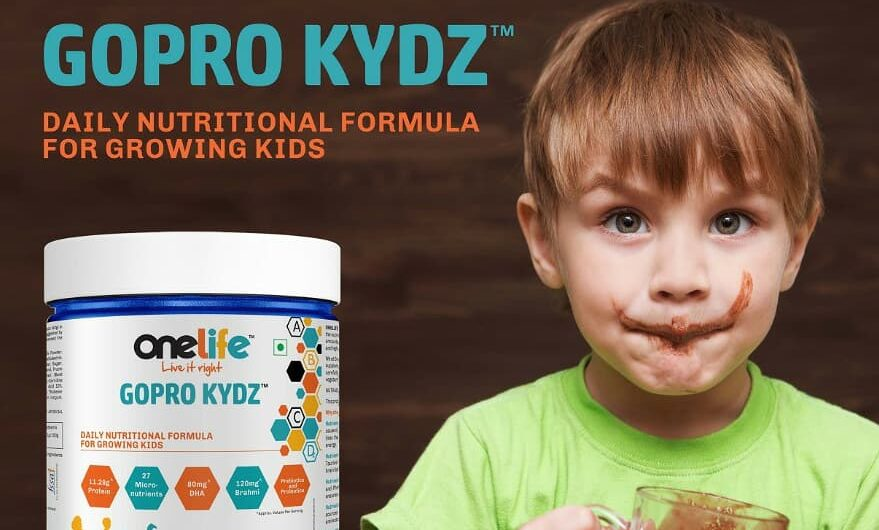 Milk Time gets interesting for kids with ONELIFE GOPROKYDZ