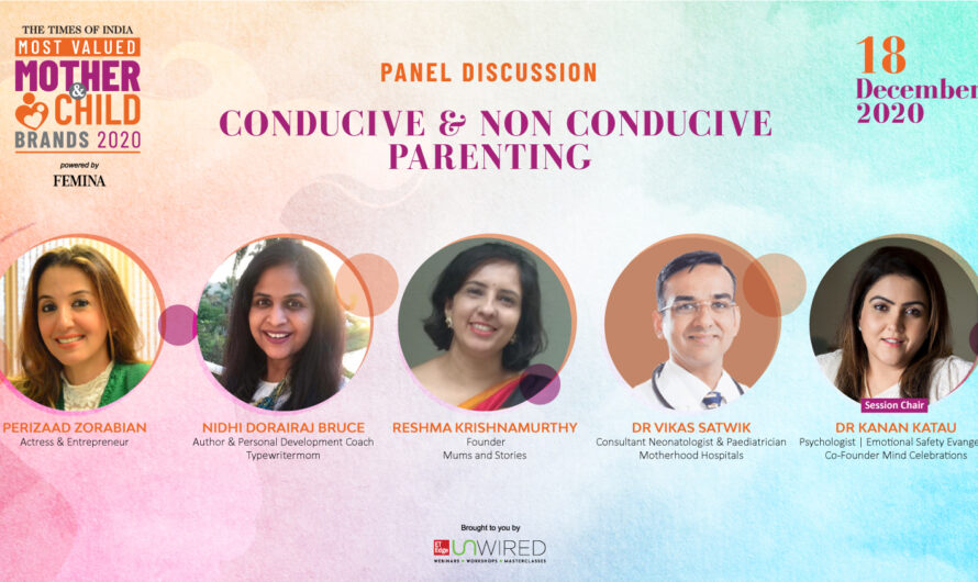 ET Mother and Child Panel discussion on Motherhood- Conducive and Non Conducive Parenting