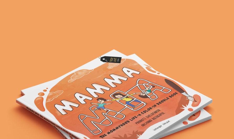 Mamma Mia the colouring book for Mommyhood