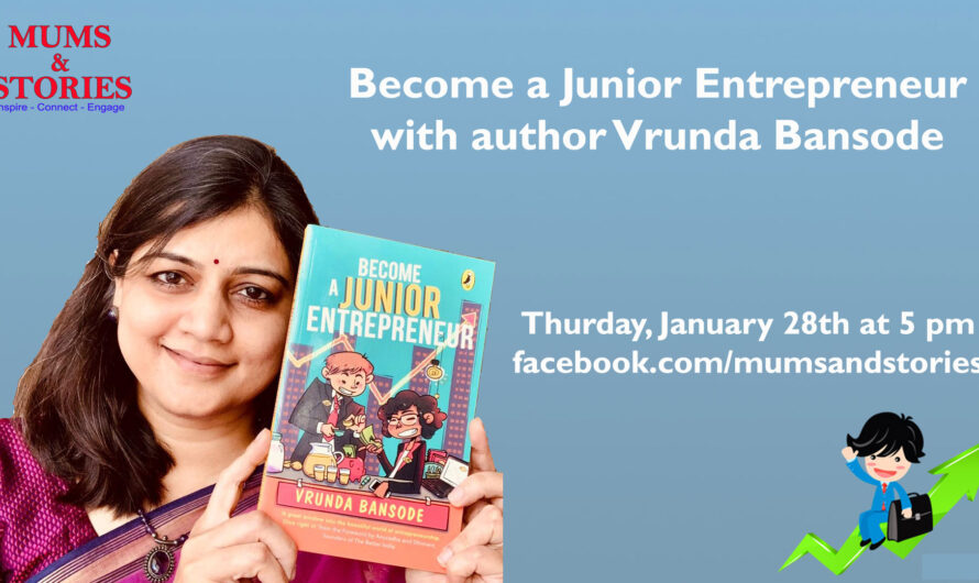 Become A Junior Entrepreneur by Vrunda Bansode