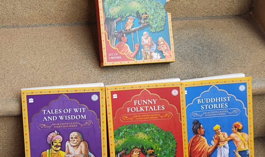 Amar Chitra Katha Collection – Folktales collection